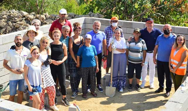 Manavgat'ta 'bir kümes bir hayat projesi' başladı